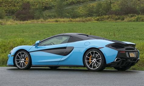 mclaren  spider review autonxt