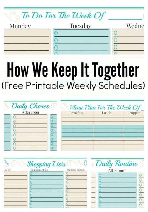 weekly planner template   checklist