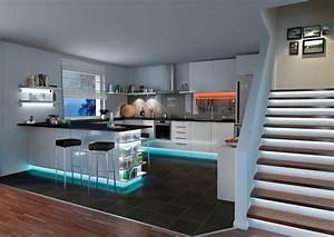 Led Strips Küche : led strips f r indirekte beleuchtung paulmann licht ~ Buech-reservation.com Haus und Dekorationen