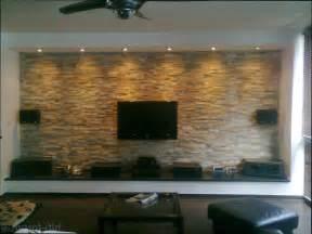 modern wohnzimmer wohnzimmer wohnzimmerwand aus naturstein