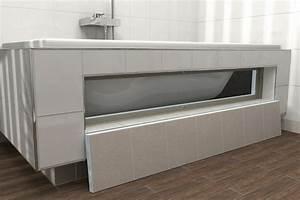 Habillage Baignoire Bois : lux elements top vue d ensemble ~ Premium-room.com Idées de Décoration