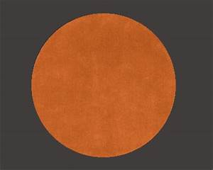 tapis rond orange With tapis rond orange