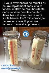 Comment Faire Du Verre : beurre trop dur pour vos tartines le truc pour le ~ Melissatoandfro.com Idées de Décoration