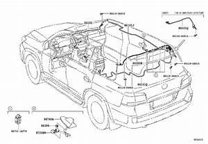 Lexus Lx 570 Antenna Assembly  Telephone  Premium Silver