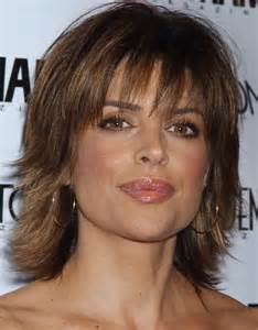 Lisa Rinna Medium Shag Hairstyles