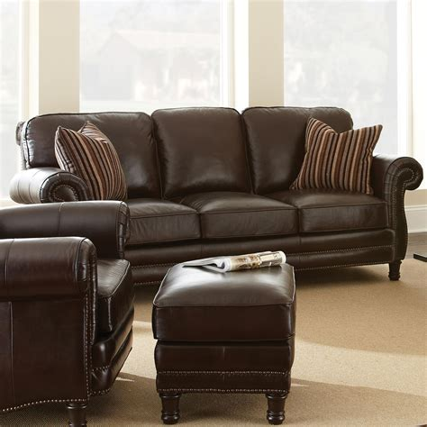 Brown Leather Sofa Set by Chateau 3 Leather Sofa Set Antique Chocolate Brown