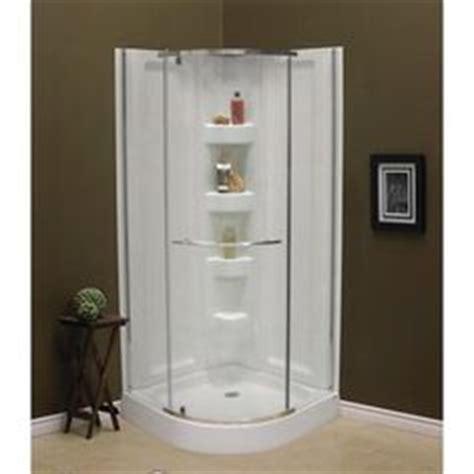 Shower Stalls Canada by Mirolin Sorrento 42 Inch Acrylic Frameless Neo Angle