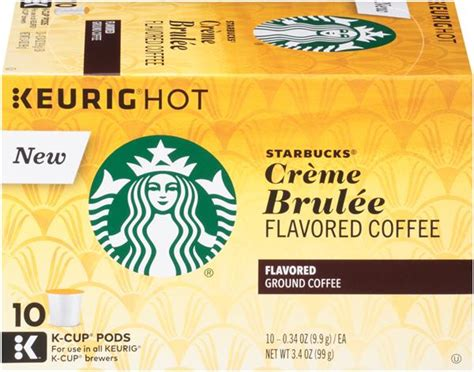 Many starbucks drinks are sneakily high in sugar, which can lead to blood sugar spikes. Starbucks Creme Brulee Flavored Coffee K-Cup Pods | Hy-Vee ...