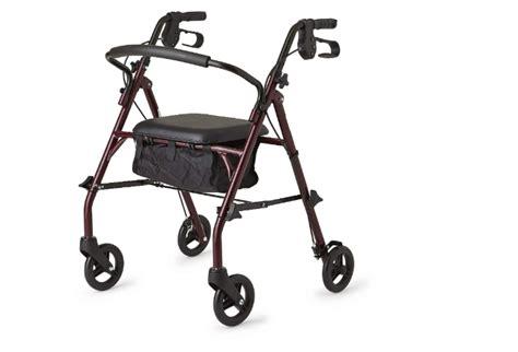 walker seniors walkers seat rollator upright tall right healthcare direct steel pros wheels backrest