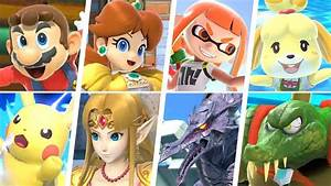 Super Smash Bros Ultimate All 74 Characters Gameplay