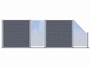 Zaun Aus Glas : system glas und wpc zaunanlage zaun ~ Michelbontemps.com Haus und Dekorationen