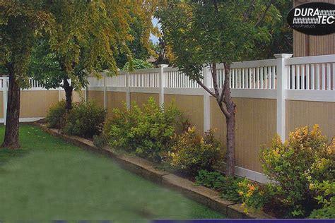 landscape fences landscape back fence line