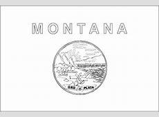 Montana Flag Flag of Montana State