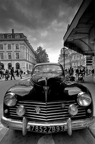 Vintage Paris Black and White Photography
