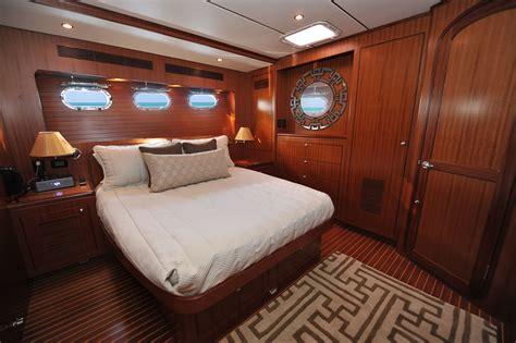 Nordhavn 55'-master Stateroom-custom Yacht Interior Design