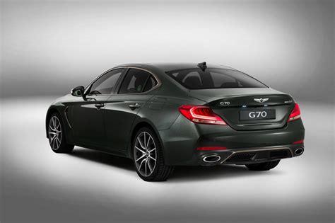 new genesis g70 eyes germany s big 3 compact sport sedans carscoops