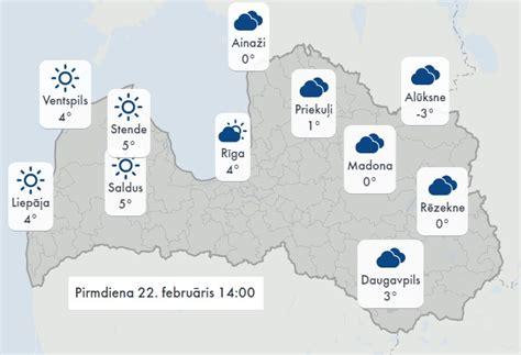 Tuvākās dienas būs aukstas, nākamnedēļ Latvijā ieplūdīs ...