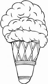 Ice Cream Coloring Pages Draw Scoop Cone Colouring Sheet Double Bulkcolor King Fun Sketch Delicious Template sketch template