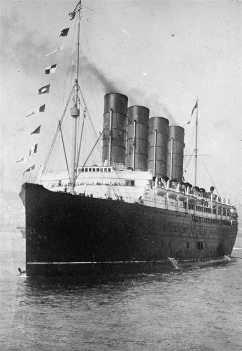 lusitania the sinking of the cunard ocean