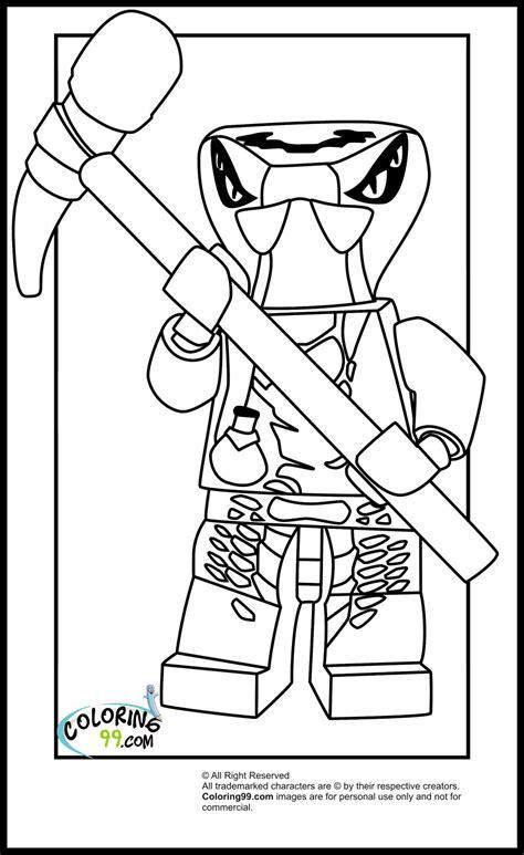 lego ninjago venomari coloring pages team colors