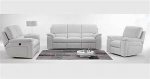 roberto cuir 100 relaxation manuel ou electrique With nettoyage tapis avec canape cuir relax moderne