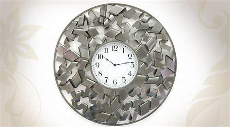 Horloge Déco Murale En Métal Design Moderne Ø 78 Cm