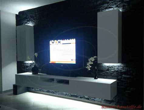 Fernsehwand Mit Beleuchtung by Paneele Avantgarde Optik Nepal Farbe Ardoise Bilder