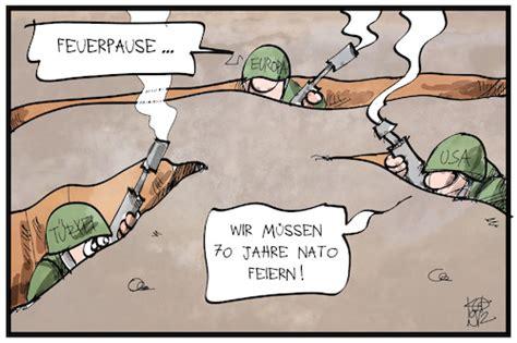 70 Jahre Nato By Kostas Koufogiorgos   Politics Cartoon ...