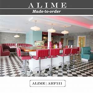 Alime Arf122 Custom Retro American Diner Sofa Seating For