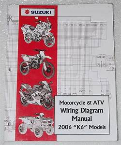 2006 Suzuki Motorcycle Atv Wiring Diagrams Manual K6 Electrical Troubleshooting