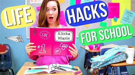 back to school hacks to back to school hacks alisha