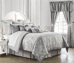 Whitney, Platinum, By, Waterford, Luxury, Bedding