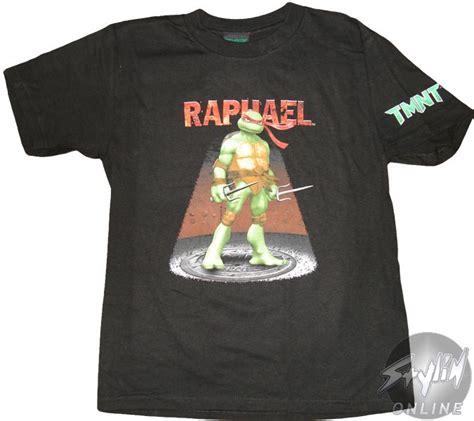 teenage mutant ninja turtles raphael youth  shirt