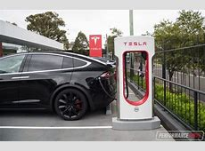 Tesla Supercharger now open at Broadway Shopping Centre