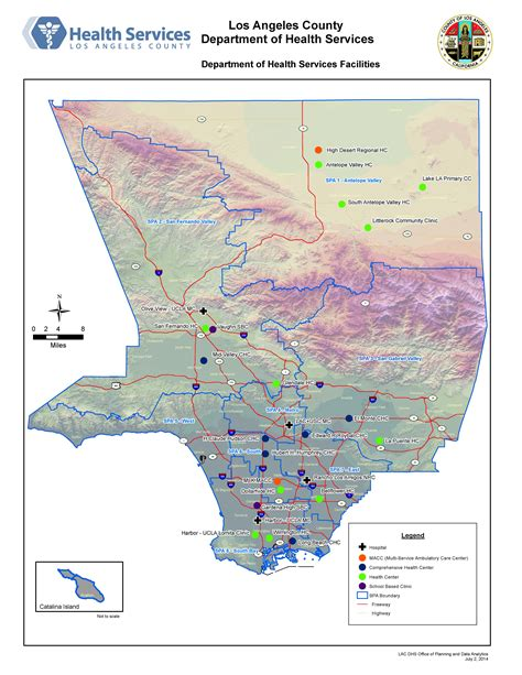 Service Los Angeles by Dhs Facilities Los Angeles County Gis Data Portal