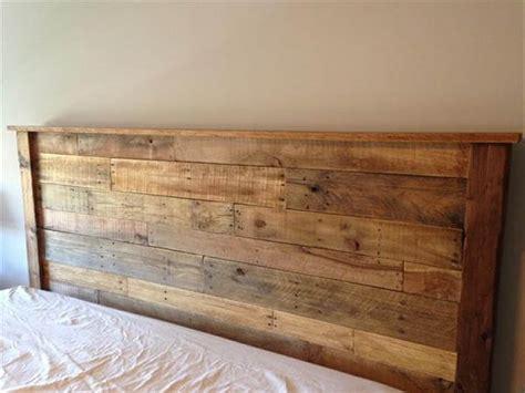 king size headboard diy diy king sized pallet wood headboard pallet furniture diy