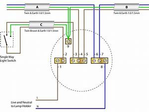 1 Switch 2 Lights Wiring Diagram Uk