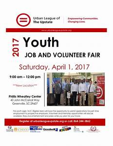 Urban League of the Upstate Youth Job Fair Flyer 2017_001 ...