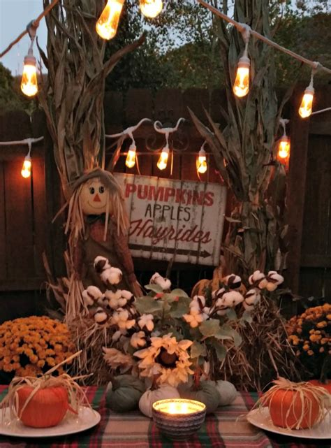 tips   outdoor fall party