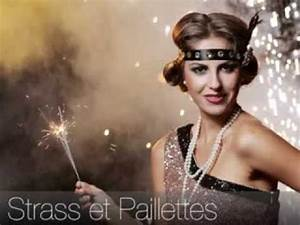 soiree nouvel an theme strass et paillettes youtube With robe strass et paillette