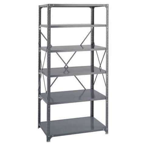 White Metal Storage Shelves by Metal Racks And Iron Rack Manufacturer Neelkamal Storage