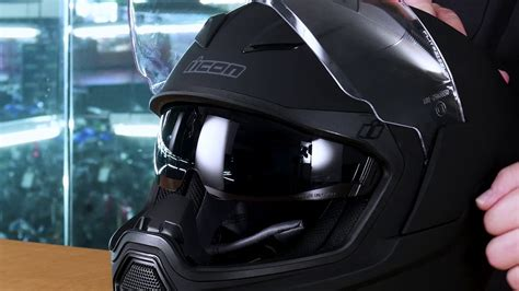 Icon Airflite Full Face Fighter Pilot Style Helmet Review