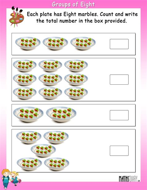 multiplication grade 2 math worksheets