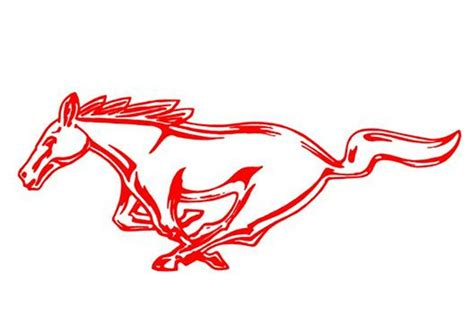 mustang horse logo ford mustang logo clipart clipart suggest