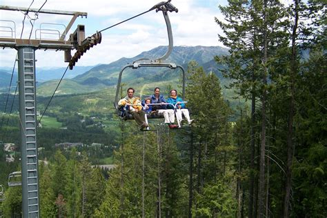 scenic chairlift rides at fernie alpine resort
