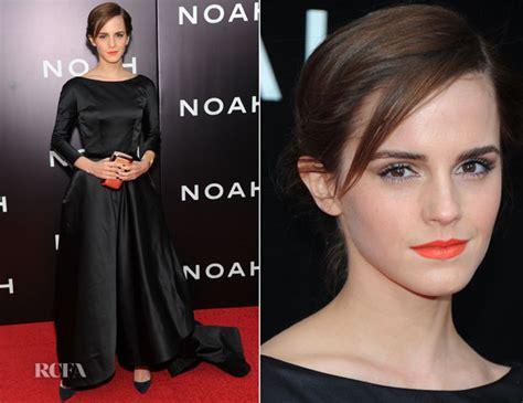 Emma Watson Oscar Renta Noah New York
