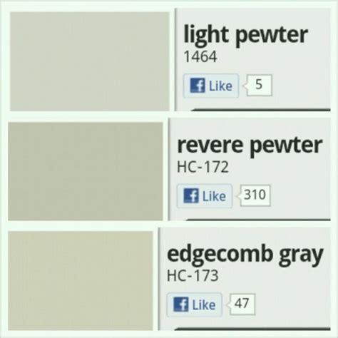 benjamin moore popular paint colors light pewter revere