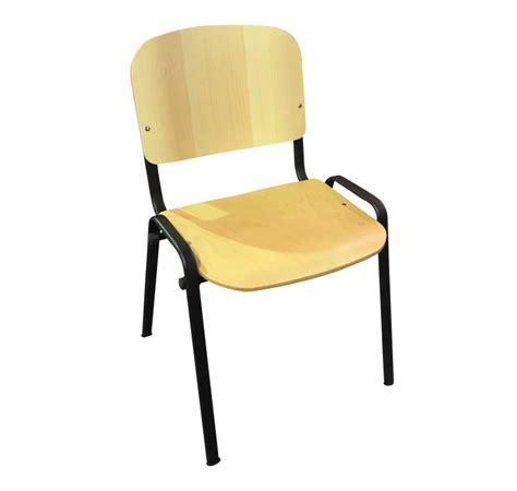 chaise collectivité chaise en bois empilable iso chaise pour collectivité