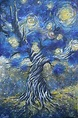 """""""The Seed"""" A painting tribute to Vincent Van Gogh 