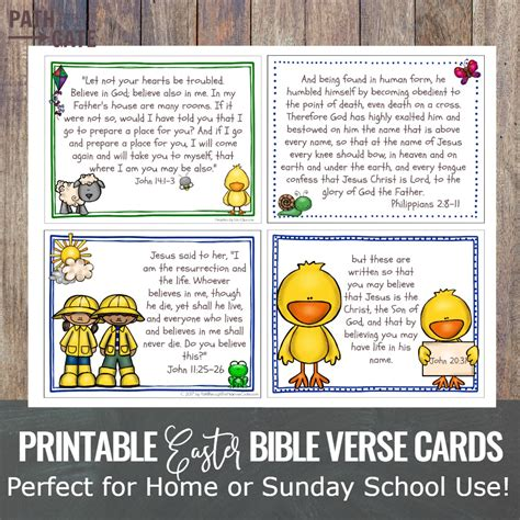 7 resurrection focused easter ideas the character corner 134 | printable easter bible verses